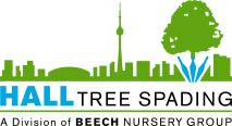 Hall Tree Spading Logo